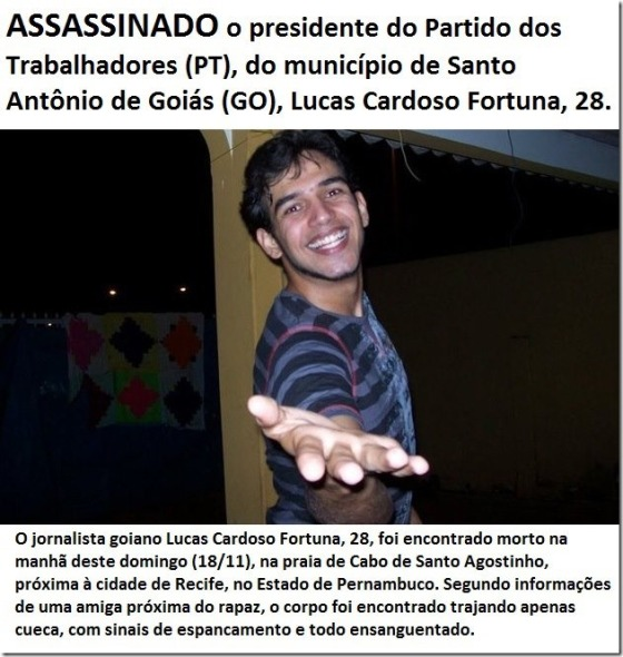 lucas fortuna assassinado